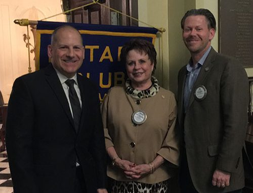 Rotary Club of Newport News Hosts Mike Giardino