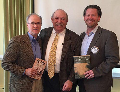 Rotary Club of Newport News Hosts Author John Quarstein and ACE Scholarship Recipient Bridget Alexander