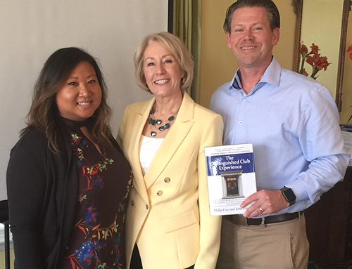 Rotary Club of Newport News Hosts Author/Speaker Molly Cox