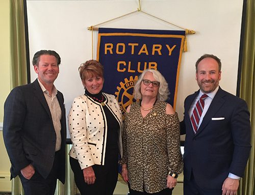 Rotary Club of Newport News Hosts Brian Cannon