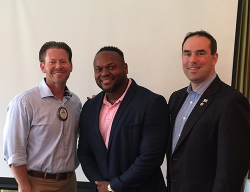 Rotary Club of Newport News Hosts D'Shawn Wright of Body By D