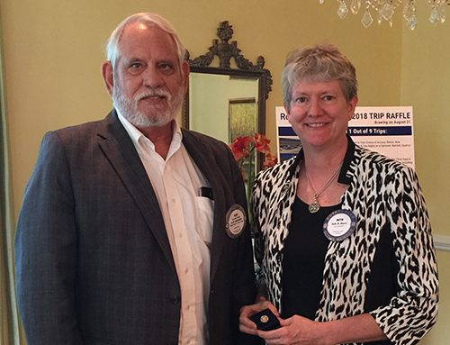 Rotary Club of Newport News Recognizes Paul Harris Fellow