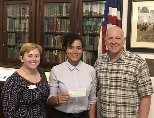 Rotary Club of Newport News Presents Support Check to Fear2Freedom