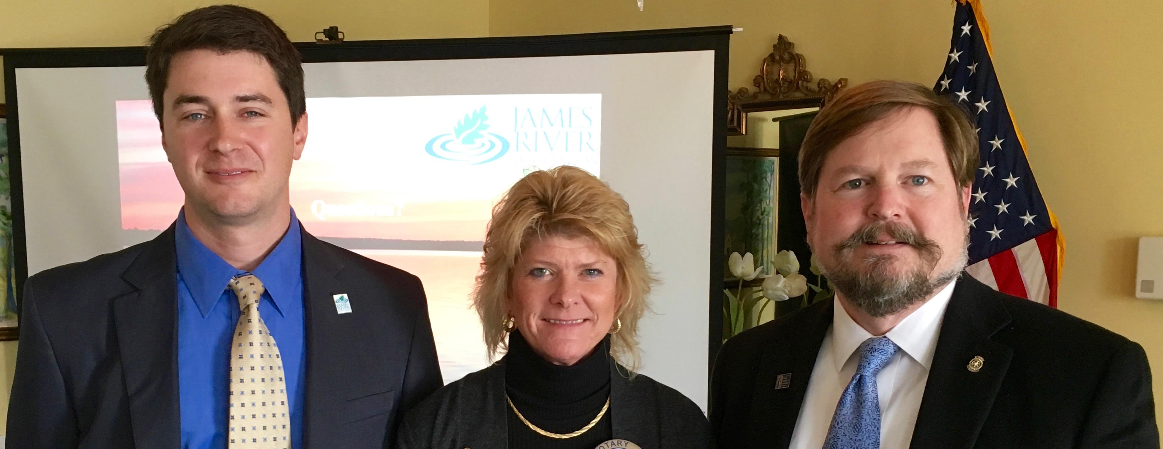 Rotary Club of Newport News Hosts James River Association