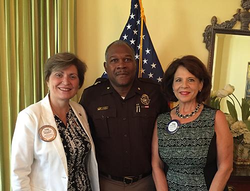 Rotary Club of Newport News Hosts Newport News Sheriff Gabriel Morgan