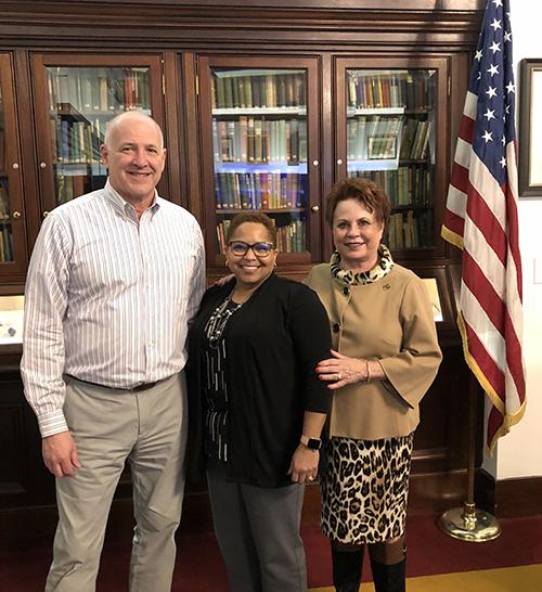 Rotary Club of Newport News Hosts Margaret Williams of HII-NN Shipbuilding