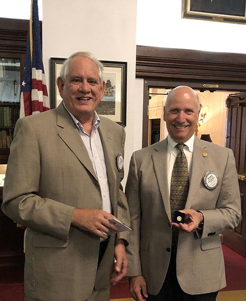 Michael Shapiro Recognized for Paul Harris Fellow +3