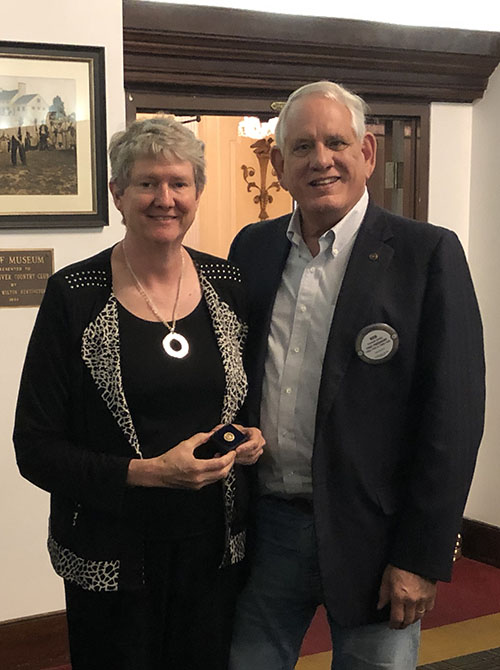 Beth Moore Recognized for Rotary Paul Harris Fellow +6