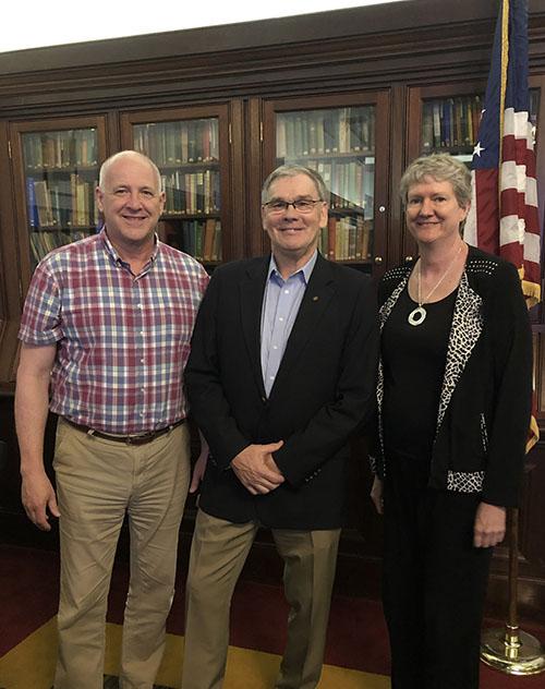 Rotary Club of Newport News Hosts Danny Carroll of Newport News Public Art Foundation